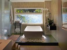 bathroom design styles. Traditional Bathroom With Stone Tub Design Styles S