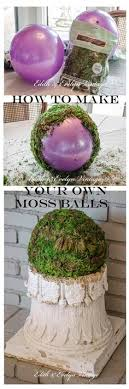 Decorating With Moss Balls TEXTURED MOSS BALL DIY Store Craft and Crafty 35