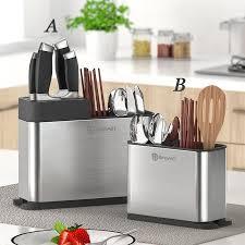 Stainless steel <b>kitchen</b> chopsticks knife and fork box <b>shovel</b> spoon ...