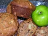 apple raisin walnut muffins