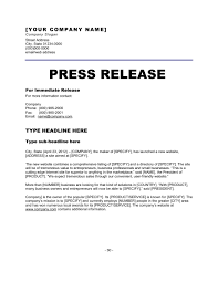 Simple Press Release Template Press Release New Website Template Word Pdf By Business In A Box
