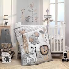 gray baby boy crib bedding