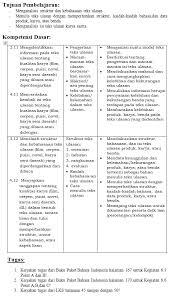 Kunci jawaban buku bahasa indonesia kelas 11 kurikulum 2013 revisi. Rencana Materi Pemb Online Kelas 8 E Learning Smp N 3 Depok