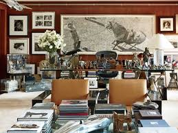 Ralph lauren home office Apartment Madison Avenue Office Laurens Office At The Companys Madison Avenue Headquarters Is Filled With Art Books And Sundry Objects That Inspire Him Business Insider Ralph Laurens Homes Office pictures Business Insider