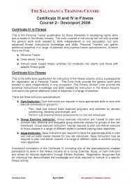 Personal Trainer Resume Sample No Experience Personal Trainer