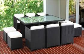 space saver wicker outdoor 10 seater