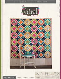 Free Quilting Patterns - Art Gallery Fabrics - Download your ... & Vitral Quilt Pattern by AGF Studio Adamdwight.com