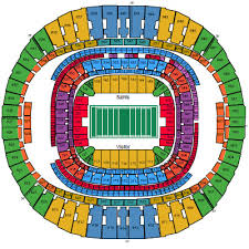 33 Complete Saints Dome Seating Chart