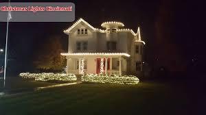 christmas home lighting. Professional Christmas Lights Installers Cincinnati Home Lighting W