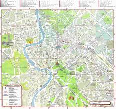 rome walking tour map pdf  google search  roma  pinterest