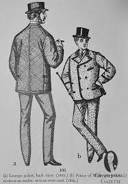 prince of wales pea jacket 1869
