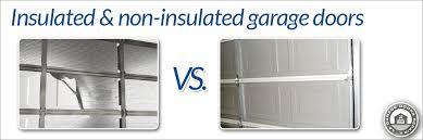 insulation for garage doorInsulated Garage Door Vs Non Insulated  LA Garage Doors Repair Blog