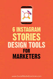 Poster Design Instagram 6 Instagram Stories Design Tools For Marketers Social