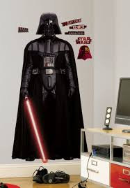 Peel And Stick Wall Decor Star Wars Darth Vader Giant Peel Stick Applique