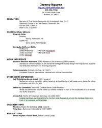 23 Resume For First Job Sample Resume Templates Teenager How To