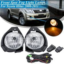 Toyota Hilux Fog Light Switch 2019 For Toyota Hilux 2008 2009 2010 2011 Replacement Car 12v Front Bumper Fog Light Lamp Kit With Harness Bulb Switch Styling From Haoxincar 68 65