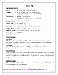 Freshers Resume Formats Best Of Sap Training Certificate Sample