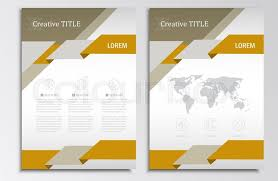 stylish page vector brochure template a4 format layout home page and more