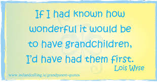 Quotes About Grandchildren Enchanting Grandparent Quotes And Jokes Ireland Calling