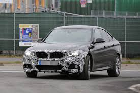 2017 BMW 3 Series GT Facelift Spied Testing in Germany - autoevolution