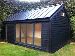 Small Picture Delighful Garden Office With Cedar Shingles And A Log Burner In