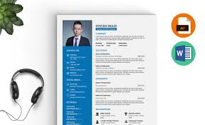 Resume Template On Word Professional Resume Template MS Word Download Resummme 78