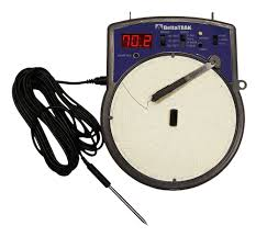 Circular Temperature Chart Recorder Electronic Circular Temperature Chart Recorder Model 14010