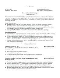 commercial real estate cover letter real estate resume real estate job description resume resume