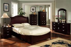 bedroom furniture dark wood. Lovely Dark Cherry Bedroom Furniture Grey Paint Colors For With Condo Wood