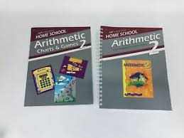 Abeka Book Arithmetic 2 Charts Game Lesson Plan Curriculum