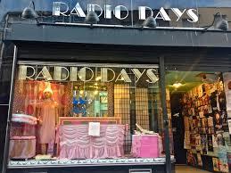 Radio Days shop front