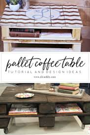 DIY Pallet Coffee Table Instructions  Awesome Pallet Coffee Table Pallet Coffee Table Diy Instructions