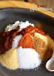 easy fajita seasoning recipe
