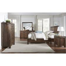 brick bedroom set. Interesting Bedroom Meadow Queen 5 Piece Bedroom Set In Brick Brown And E