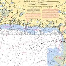 Massachusetts South Harwich Nantucket Sound Cape Cod Nautical Chart Decor