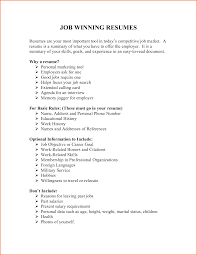 8 Resume For Jobs Budget Template Letter