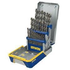 Irwin Drill Bit Size Chart 29 Piece Cobalt M 35 Metal Index Drill Bit Set Tools