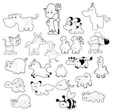 Animal Printable Coloring Pages Farm Colouring Pages Printable Farm