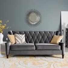 Velvet Living Room Furniture Tufted Sofa Velvet Sofa Estacado Also Living Room Ideas With