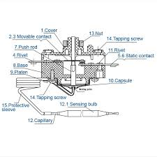 wqb serises copper tube capillary Capillary Thermostat Wiring Diagram Thermostat Wiring Schematic