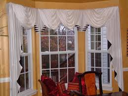 For Bay Windows In A Living Room Curtain Trend Babble Window Treatments For Bay Windows Bay Window