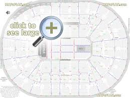 Moda Center Theater Of The Clouds Seating Chart Moda Center Rose Garden Arena Seat Row Numbers Detailed