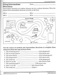 Following Maps Worksheets Worksheets for all | Download and Share ...