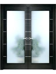 interior frosted glass door modern interior double door black apricot with frosted frosted glass door modern