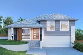 Regatta  Split Level Home Designs In GJ Gardner Homes - Split level exterior remodel