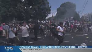 tensions remain high following violence in charlottesville va