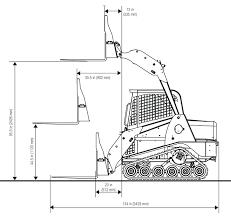 pt posi track loader series asv s service ceg dimensions pallet fork attachment