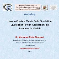 Pdf How To Create A Monte Carlo Simulation Study Using R