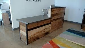 round office desk. Top 74 Fab Wood Reception Desk Half Round Office Furniture Concierge Salon Finesse