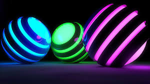Neon backgrounds ...